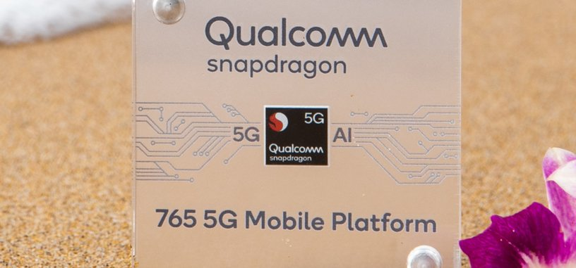 Los Snapdragon 765 y 765G llegan a la gama media con conectividad 5G