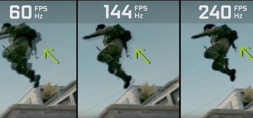 Nvidia explica en vídeo la importancia de una alta tasa de fotogramas en el juego competitivo