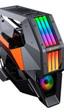 La Conquer 2 de Cougar es una caja de estilo futurista con aluminio, cristal y mucho RGB