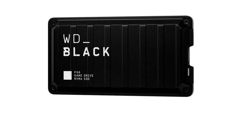 Western Digital pone a la venta el WD_Black P50, SSD externo con USB 3.2 tipo C