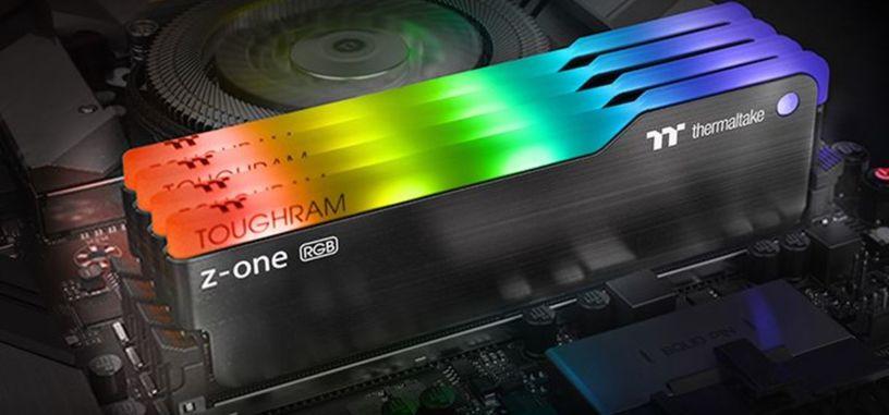 Thermaltake anuncia nuevos módeulos ToughRAM Z-One de DDR4-3200 con RGB