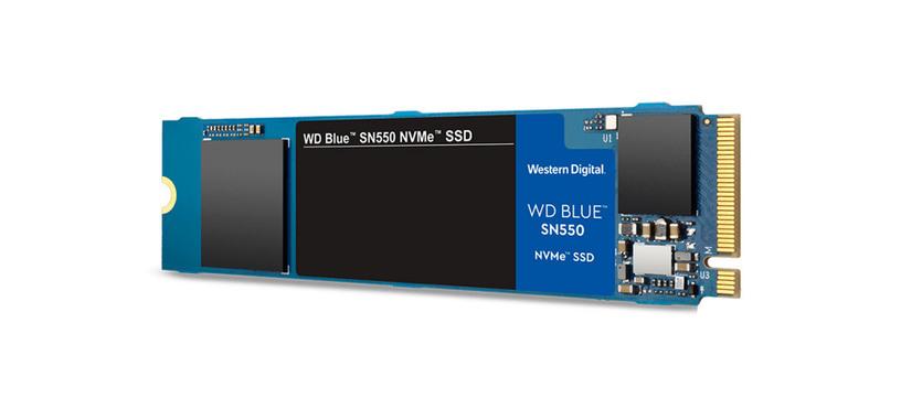 Western Digital anuncia la serie WD Blue SN550 de SSD económicos PCIe
