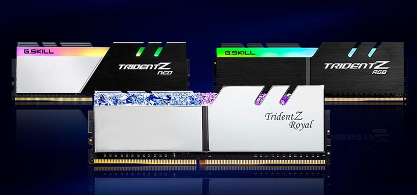 G.Skill anuncia kits de módulos DDR4 de 32 GB de baja latencia