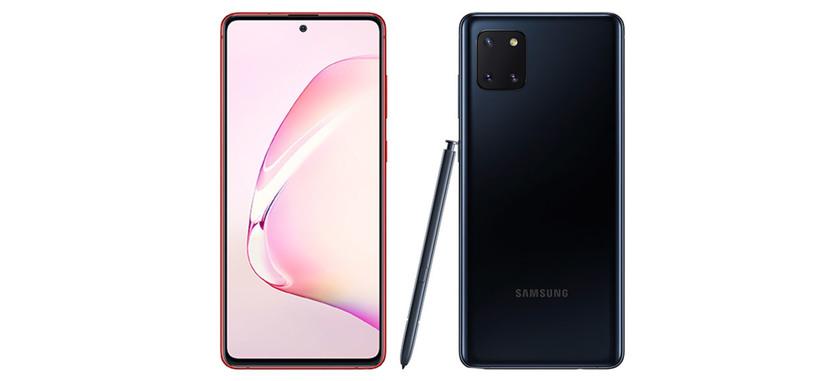 Samsung anuncia el Galaxy Note 10 Lite