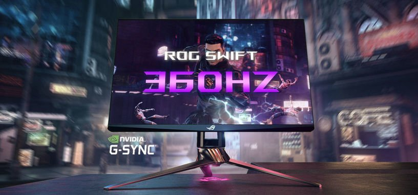 ASUS presenta el ROG Swift 360Hz PG259QN