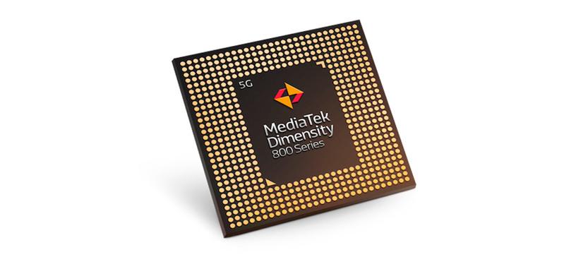 MediaTek anuncia el Dimensity 800 5G para competir con el Snapdragon 765