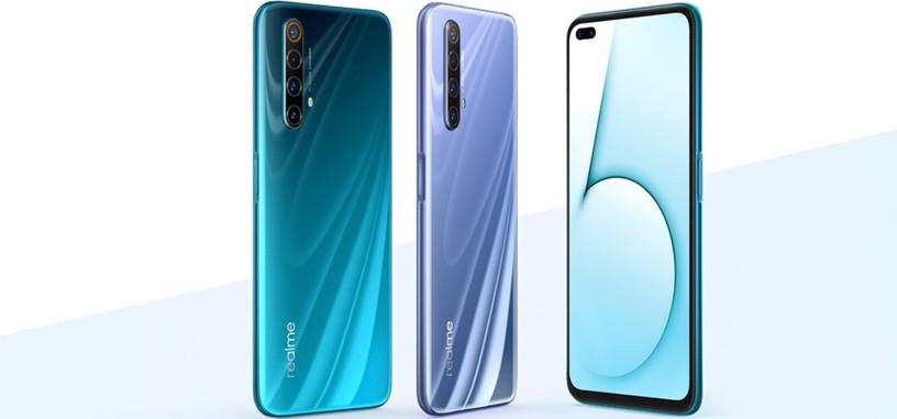 Realme presenta el X50, con Snapdragon 765G, 5G, y pantalla de 120 Hz