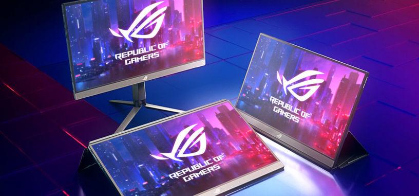 ASUS presenta el monitor portátil ROG Strix XG17AHP, 17.3'' FHD de tipo IPS y 240 Hz