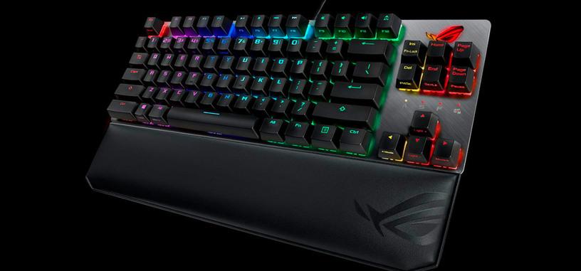 ASUS presenta el teclado mecánico  ROG Strix Scope TKL Deluxe
