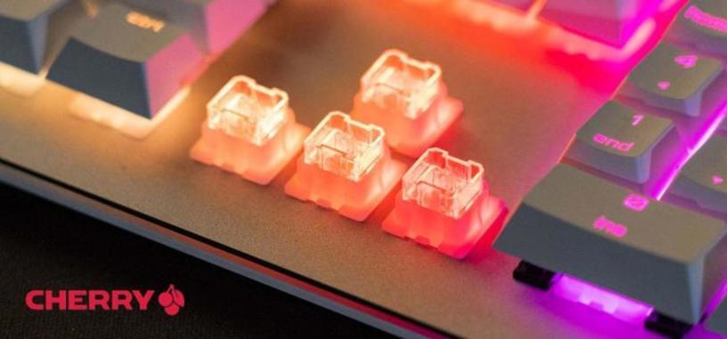Cherry orienta el interruptor Viola a los teclados mecánicos económicos