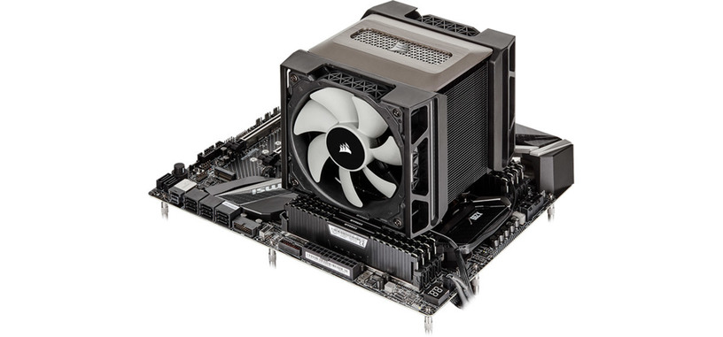 Corsair presenta la refrigeración por aire A500 de alto rendimiento