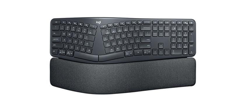 Logitech presenta el teclado ERGO K860, ergonómico y silencioso