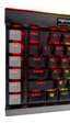 Corsair presenta el teclado mecánico K95 RGB Platinum XT