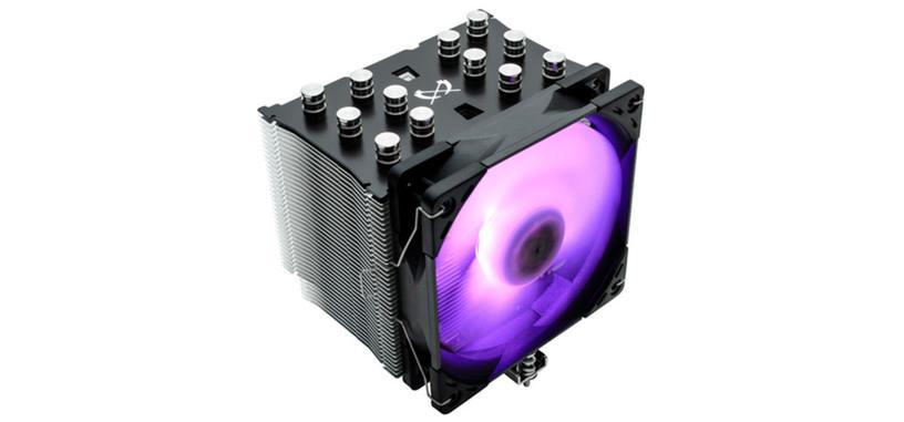 Scythe presenta la refrigeración Mugen 5 Black RGB
