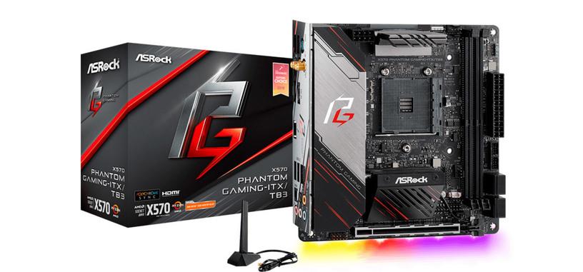 La X570 Phantom Gaming-ITX/TB3 recibe la certificación para Thunderbolt 3