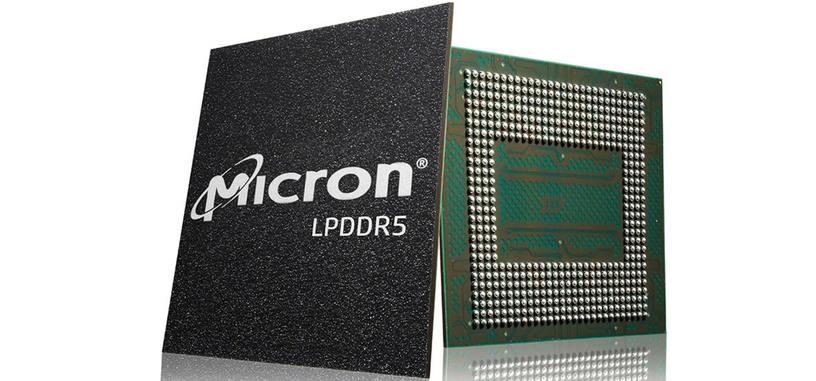 Micron empieza a entregar los primeros lotes de LPDDR5 a los fabricantes de móviles