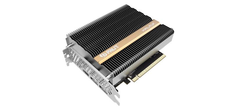 Palit se pasa al funcionamiento silencioso con la GeForce GTX 1650 KalmX