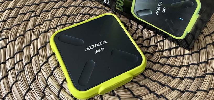 Análisis: SD700 (512 GB) de ADATA, SSD externa veloz y ultrarresistente