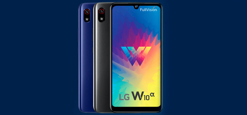 LG presenta el W10 Alpha para la gama baja