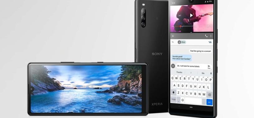 Sony da señales de vida con el Xperia L4, pantalla 21:9, Helio P22 y triple cámara trasera