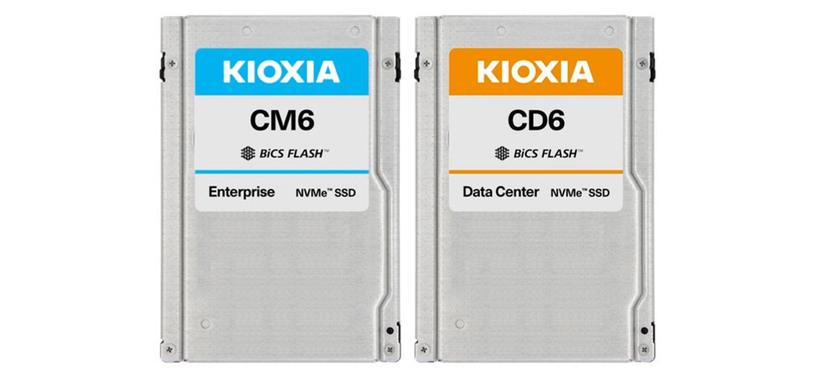 Kioxia anuncia nuevos SSD de tipo PCIe 4.0 que alcanzan los 6.9 GB/s y son de hasta 30 TB