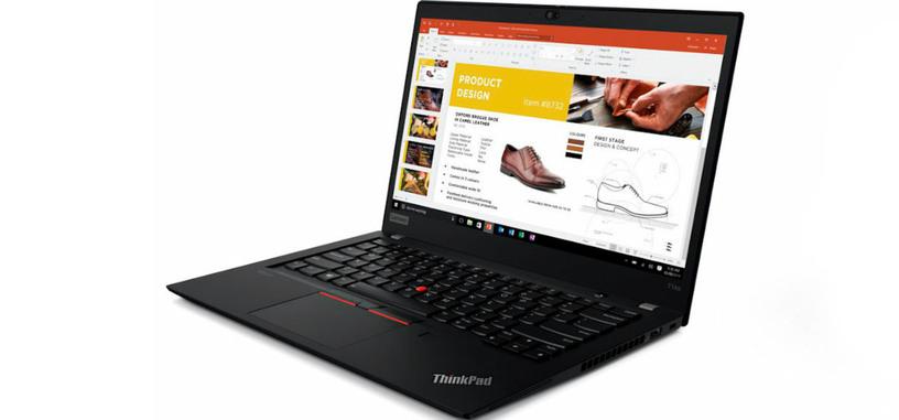 Lenovo ofrece los nuevos ThinkPad con procesadores Ryzen 4000 Pro