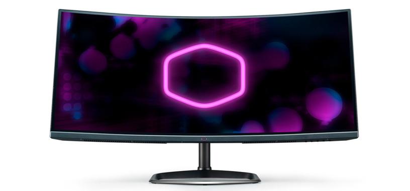 Cooler Master presenta el monitor GM34-CW, VA curvo de 34'' con FreeSync 2 HDR
