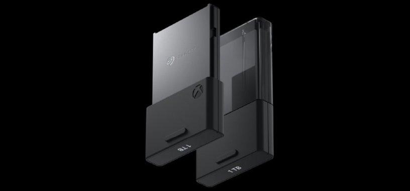 Seagate muestra su cartucho de 1 TB para la Xbox Serie X