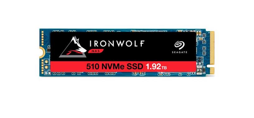 Seagate anuncia la serie IronWolf 510 de SSD tipo PCIe