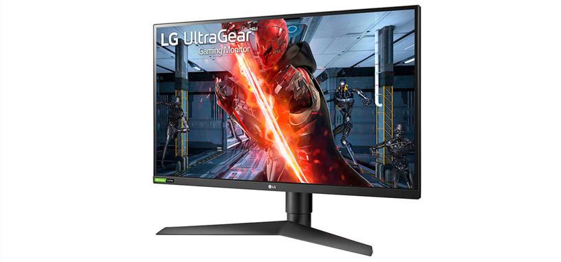 LG pone a la venta el UltraGear 27GN750-B, monitor IPS, FHD de 240 Hz y 1 ms con G-SYNC