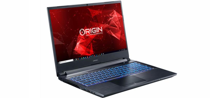 Origin incluye un Ryzen 9 3900 de doce núcleos en el portátil EON15-X