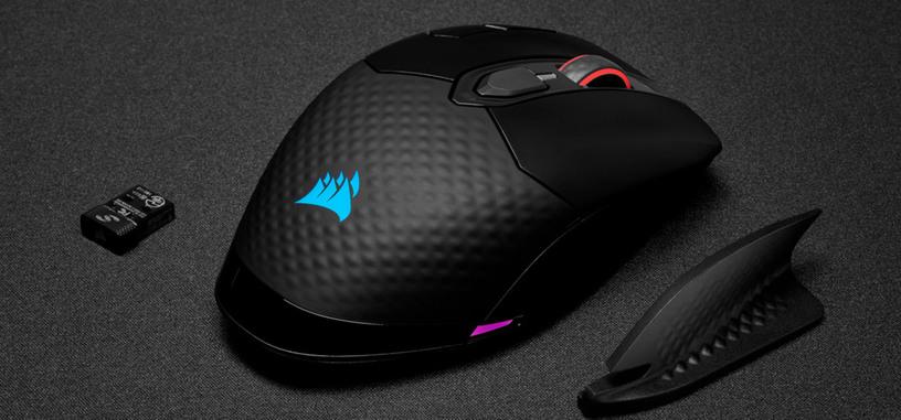 Corsair anuncia el ratón inalámbrico Dark Core RGB Pro SE con carga Qi