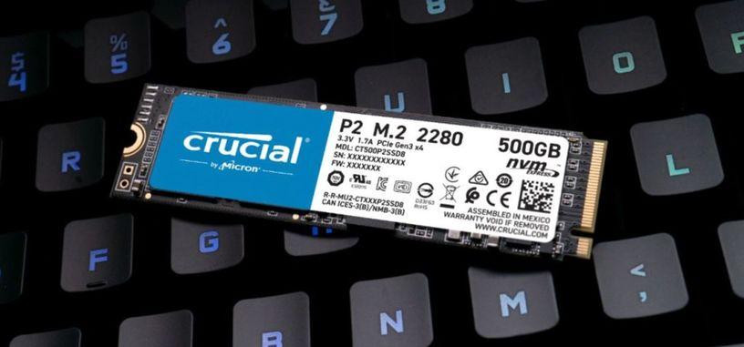 Crucial presenta la serie P2 de SSD económicos de tipo PCIe