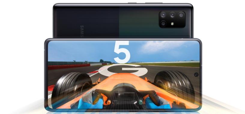 Samsung anuncia los Galaxy A51 5G y Galaxy A71 5G