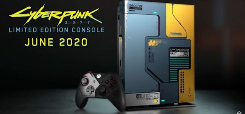 Microsoft pondrá a la venta en junio una versión 'Cyberpunk 2077' de la Xbox One X