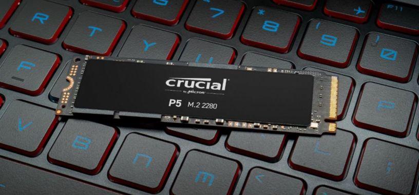 Crucial anuncia la serie P5 de SSD de tipo PCIe