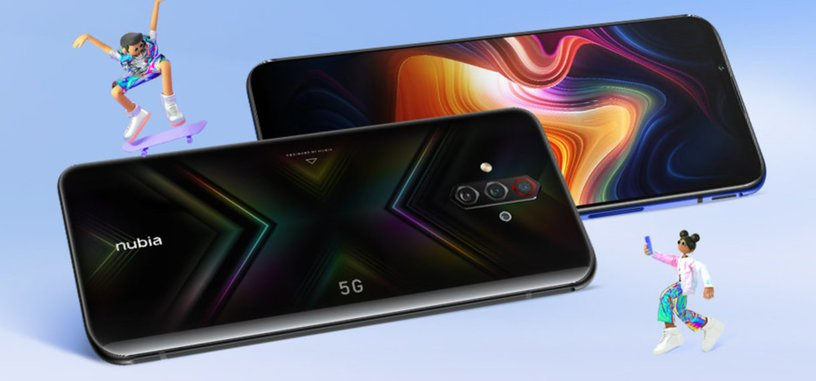 Nubia presenta el Play 5G, pantalla OLED de 144 Hz, SD765G y batería de 5100 mAh