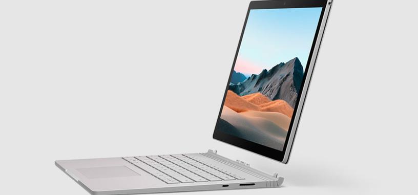 Microsoft renueva el Surface Book 3, con hasta una Quadro RTX 3000 y Core i7-1065G7