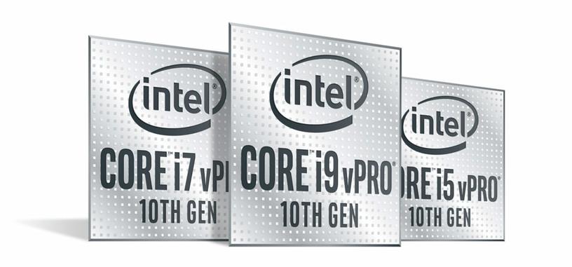 Intel anuncia los procesadores vPro de 10.ª generación, se usan con cualquier chipset serie 400