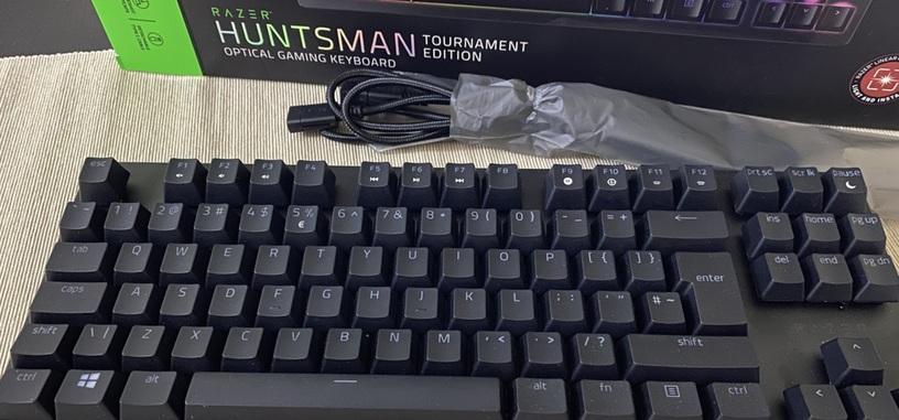 Análisis: Hunstman Tournament Edition de Razer, teclado con interruptores ópticos