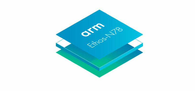 ARM da más potencia a sus unidades de procesamiento neuronal con la Ethos-N78