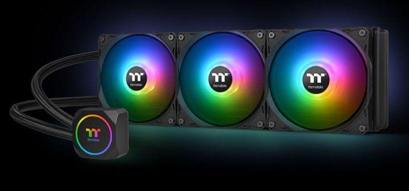 Thermaltake presenta la serie TH ARGB Sync de refrigeración líquida