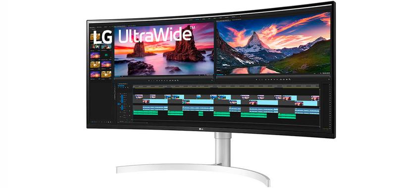 LG presenta el monitor paronámico curvo 38WN95C, 38'' IPS de 144 Hz con DisplayHDR 600