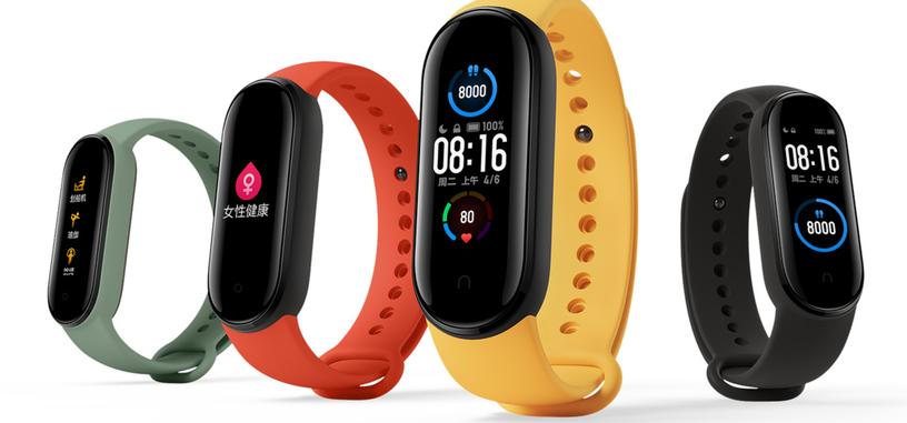 Xiaomi anuncia la Mi Band 5 con una versión con NFC