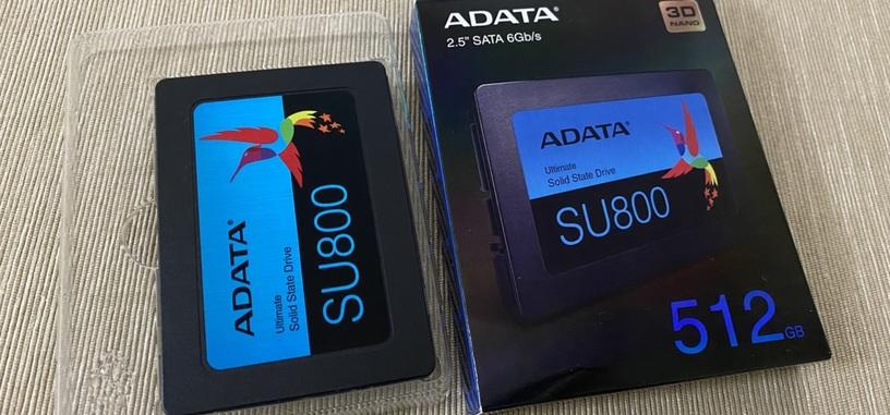 Análisis: Ultimate SU800 de 512 GB de ADATA