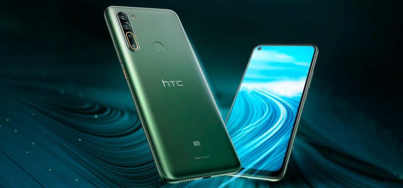 HTC anuncia el U20 5G, con Snapdragon 765G y batería de 5000 mAh