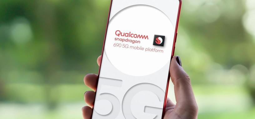 Qualcomm anuncia el Snapdragon 690, el 5G llega a la serie 600