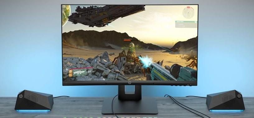 HP anuncia el monitor X24c tipo VA curvo, FHD y 144 Hz por 199 euros