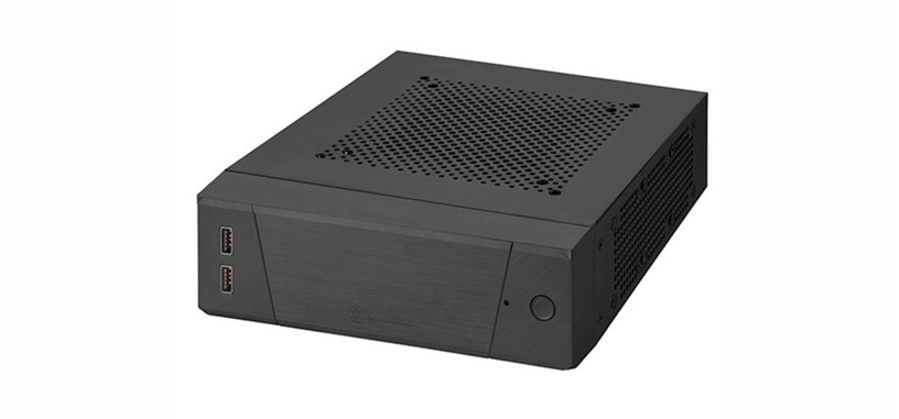 SilverStone presenta la caja Milo 10 para mini-PC con placa base mini-ITX