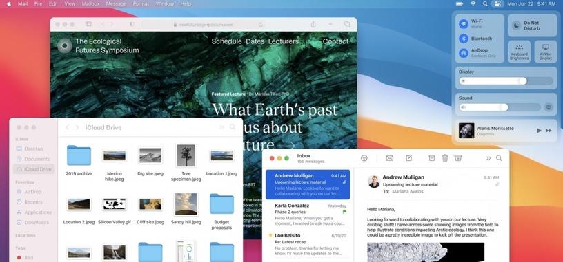 Apple presenta macOS Big Sur, ligero rediseño que lo acerca aún más a iPadOS